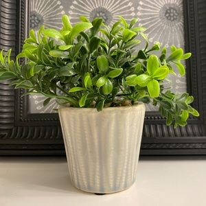 Small Potted Artificial Greenery Plant